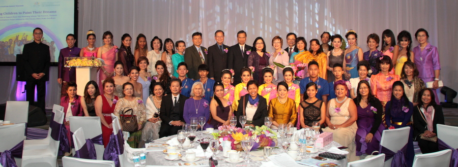 """Helping Children to Paint Their Dreams"" Gala Dinner held in Vancouver to Assist Children's Education Development at Baan Mae Ramoeng School in Tak Province"