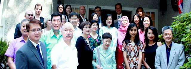 "Royal Thai Consulate-General in Vancouver presented ""Thai Cuisine in the Garden"""