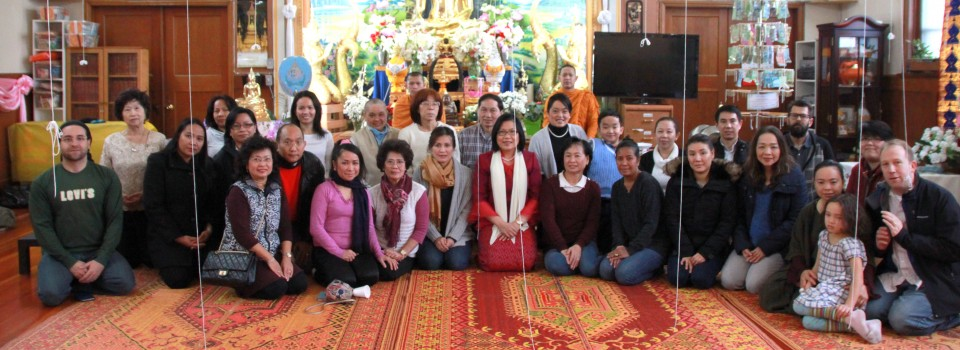 Consul-General of Thailand to Vancouver participated the New Year celebration at Yanviriya Buddhist Temple in Vancouver