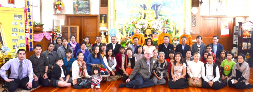 The Royal Thai Consulate-General in Vancouver Organized a Buddhist Ceremony on the Auspicious Occasion of the 88th Birthday Anniversary of His Majesty King Bhumibol Adulyadej