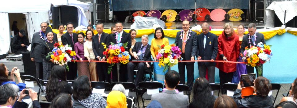 Royal Thai Consulate-General in Vancouver Organized the 3rd Thai Festival in Vancouver (9-10 July 2016)