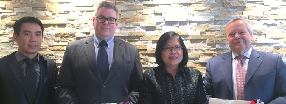 Consul-General of Thailand to Vancouver Promoted Education and Research Cooperation with University of the Fraser Valley (UFV) in Abbotsford, British Columbia, Canada
