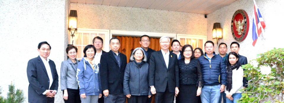 The Royal Thai Consulate-General in Vancouver Welcomed Deputy Minister of Transport and the Delegation