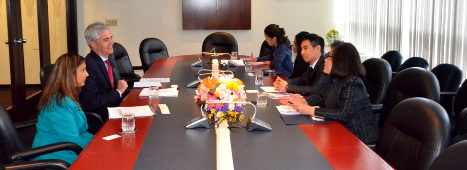 Consul-General of Thailand to Vancouver Discussed with Assistant Deputy Minister, Ministry of Education of British Columbia