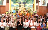 Consul-General of Thailand to Vancouver and Deputy Consul General presided over the Asarnha Bucha Day and Buddhist Lent Day Ceremony at Thai Buddhist Temples in British Columbia