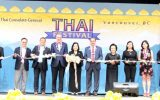 Royal Thai Consulate-General in Vancouver Organized the 4th Thai Festival in Vancouver