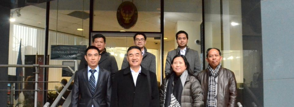 "The Royal Thai Consulate-General in Vancouver Welcomed the Thai Delegation to ""UN Peacekeeping Defence Ministerial"""