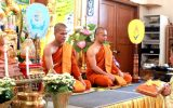 The Royal Thai Consulate-General in Vancouver Organized a Merit-Making Ceremony on the Occasion of the Birthday Anniversary of His Majesty the late King Bhumibol Adulyadej (5 Dec)
