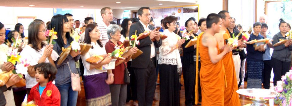 Consul-General of Thailand to Vancouver presided over the Visakabucha Day Buddhist Ceremony at Yanviriya Buddhist Temple 1 in Vancouver