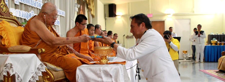Consul-General of Thailand to Vancouver Attended the Royal Kathina Offering Ceremony at Ratchadham Viriyaram Buddhist Temple 3 and Kathina Offering Ceremonies at Thai Temples in Western Canada