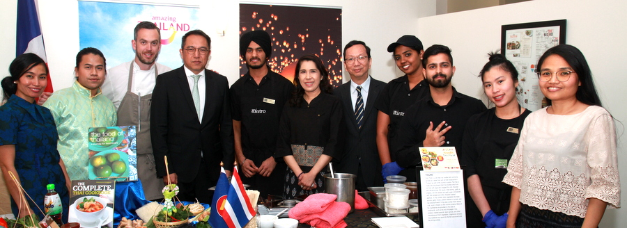 Royal Thai Consulate-General in Vancouver Co-Orginized the ASEAN Noodle Festival