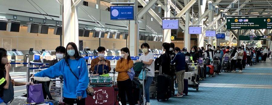 สถานกงสุลใหญ่ ณ นครแวนคูเวอร์ ดำเนินการส่งคนไทยที่ตกค้างในแคนาดาเดินทางกลับประเทศไทยครั้งที่ 4 (วันที่ 17 มิถุนายน 2563)
