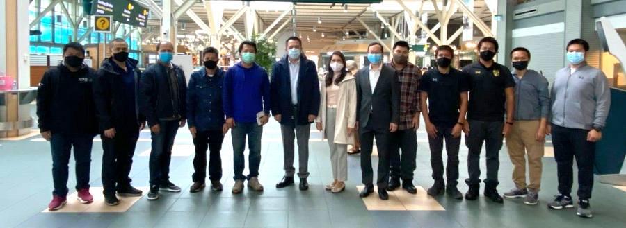 เที่ยวบินพิเศษนำคนไทยในแคนาดาเดินทางกลับประเทศไทยครั้งที่ 8 (16 ตุลาคม 2563)